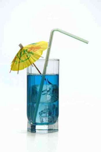 Рецепт коктейля: Голубая лагуна.