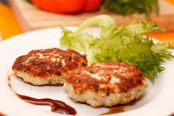 Рис 1 котлеты из индейки или курицы