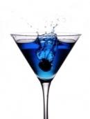 Рецепт алкогольного коктейля: Синий тихий океан.