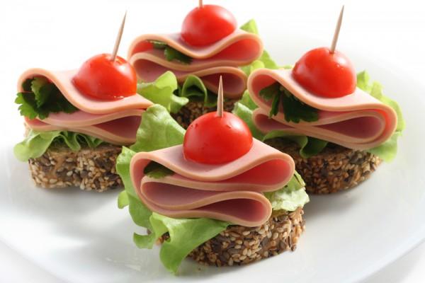 канапе рецепты с фото мясные